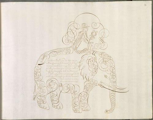 calligraphy animals