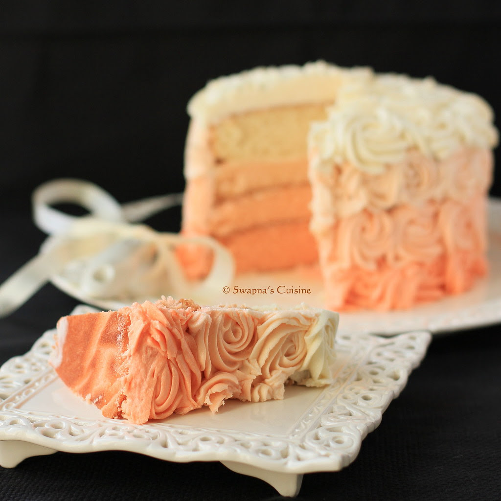 How to make Ombre Layer Cake
