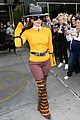 lady gaga yellow bright outfit nyc 05