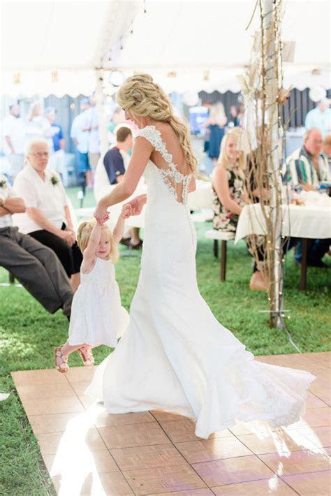 Courtney & Zach   Romantic Outdoor Minnesota Wedding with