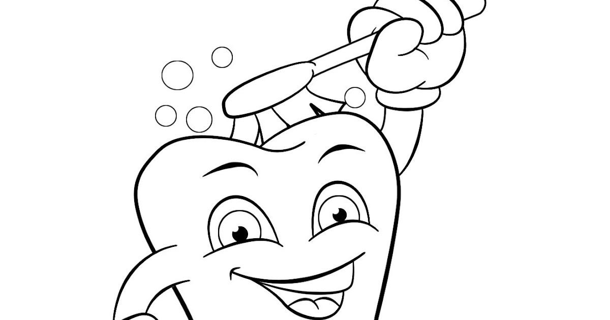 ausmalbild zahn