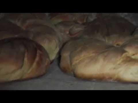 Pão caseiro com batata doce