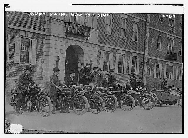 Harvard, Military motor cycle squad