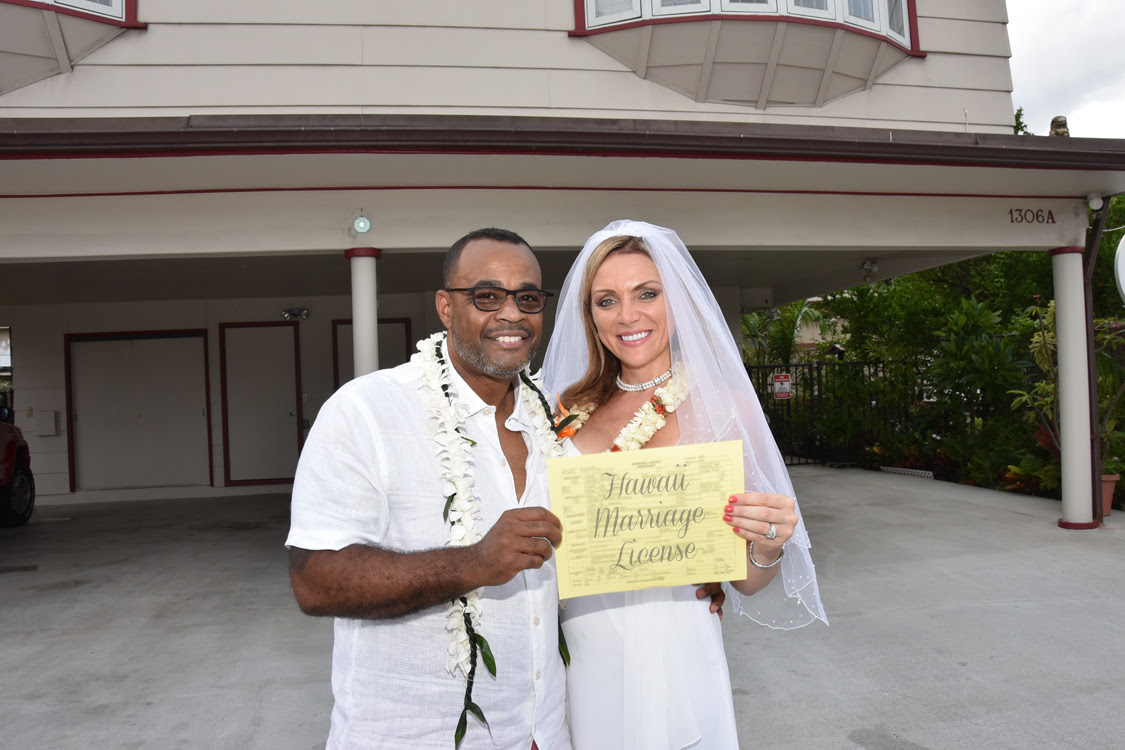 Hawaii Marriage License