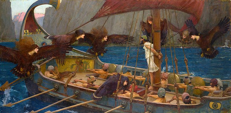 File:WATERHOUSE - Ulises y las Sirenas (National Gallery of Victoria, Melbourne, 1891. Óleo sobre lienzo, 100.6 x 202 cm).jpg