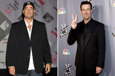 My diet and weght loss: Carson daly weight gain
