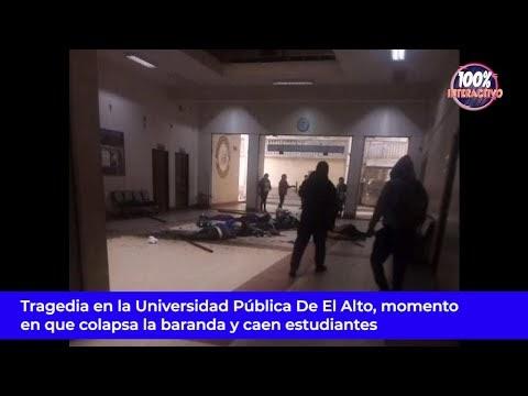 Videos: Jornada trágica en la UPEA