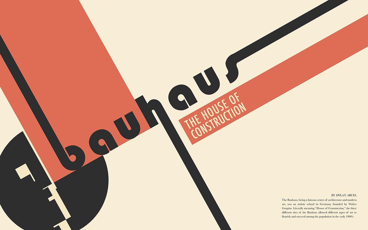A History Of The Bauhaus School Of Art And Design