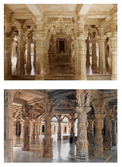 dilwara temple mt abu  postcards