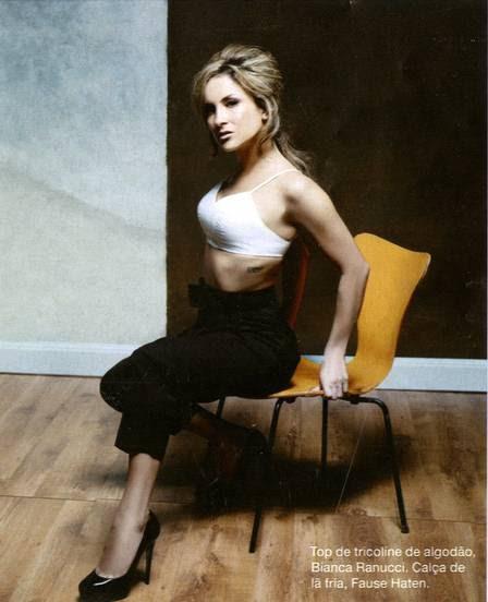 "Claudia Leitte na revista ""Estilo"""