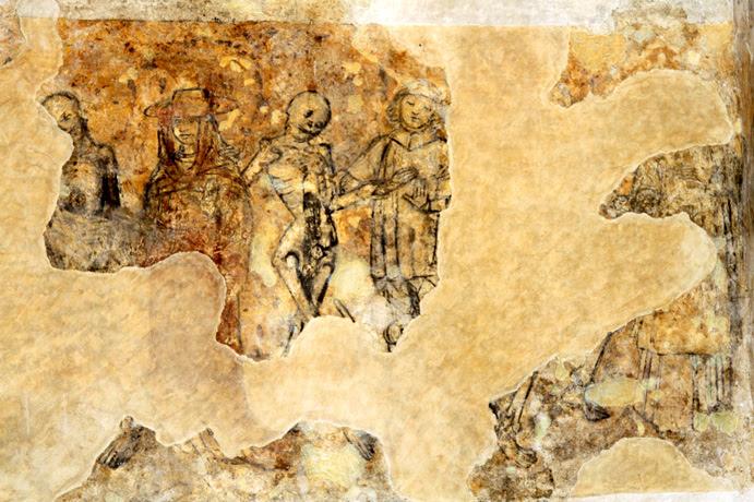 Fresque de l'église Notre-Dame de Kernascléden