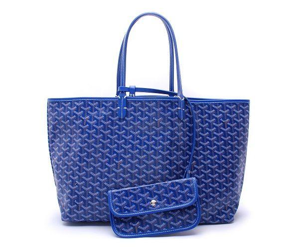 Totes - Goyard Classic St Louis GM Tote Handbag Blue
