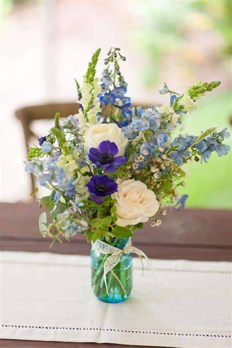 Rustic Blue Wedding Flowers!   Emlily Floral. Wildflower