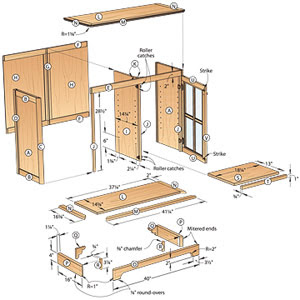Living Room Woodworking Plans