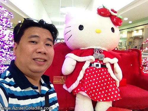 Hello Kitty Christmas at SM City North EDSA