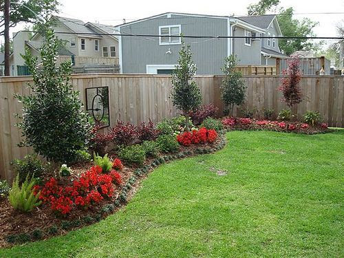 Simple garden ideas for backyard