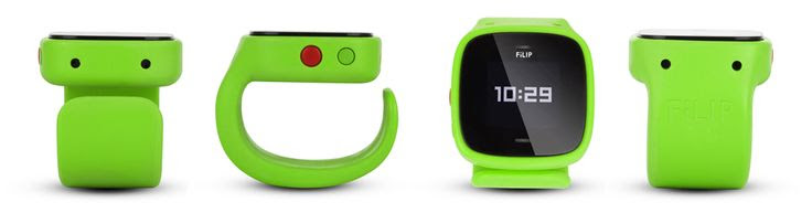 FLIP - The World's First Smart Locator and Phone for Kids