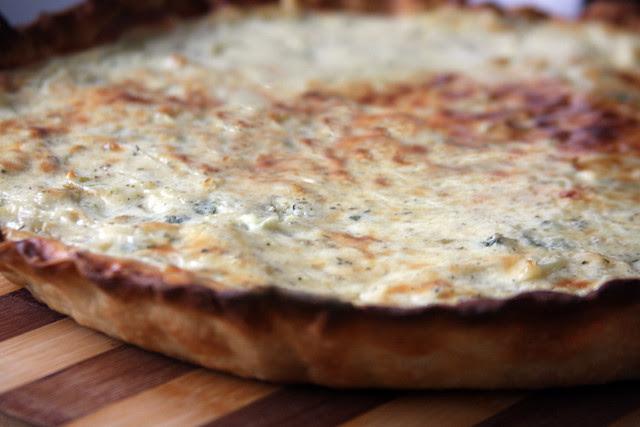 Tarta de Queso y Cebolla 084