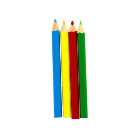 Mini Colouring Pencils   Pack of 4   Partyrama.co.uk