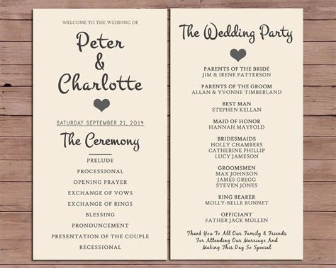Pin by Claire McQuarrie on Invitations   Wedding order of