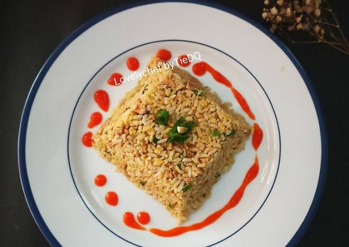 Resep Korean Fried Rice Anti Gagal