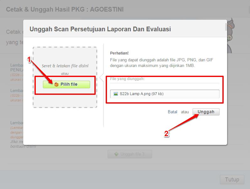 Cara Upload Scan Hasil PKG Padamu Siap Online