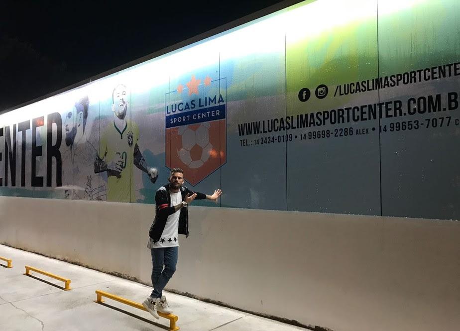 Inspirado em Neymar, Lucas Lima realiza sonho e inaugura centro esportivo no interior