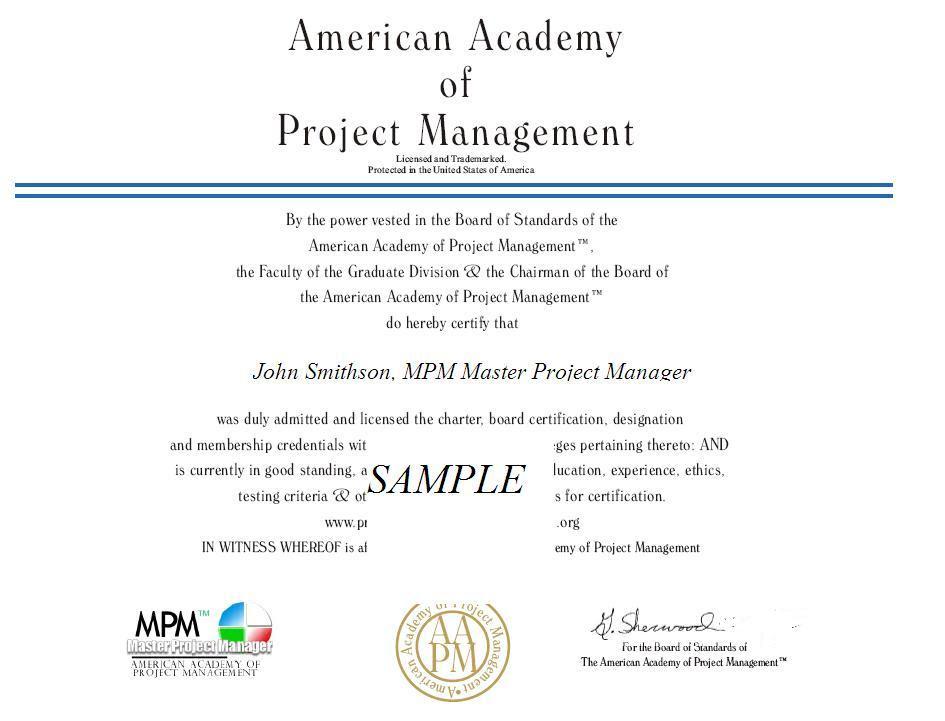 Project Management Professional Project Management Professional