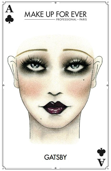 Great #Gatsby #Halloween #Makeup