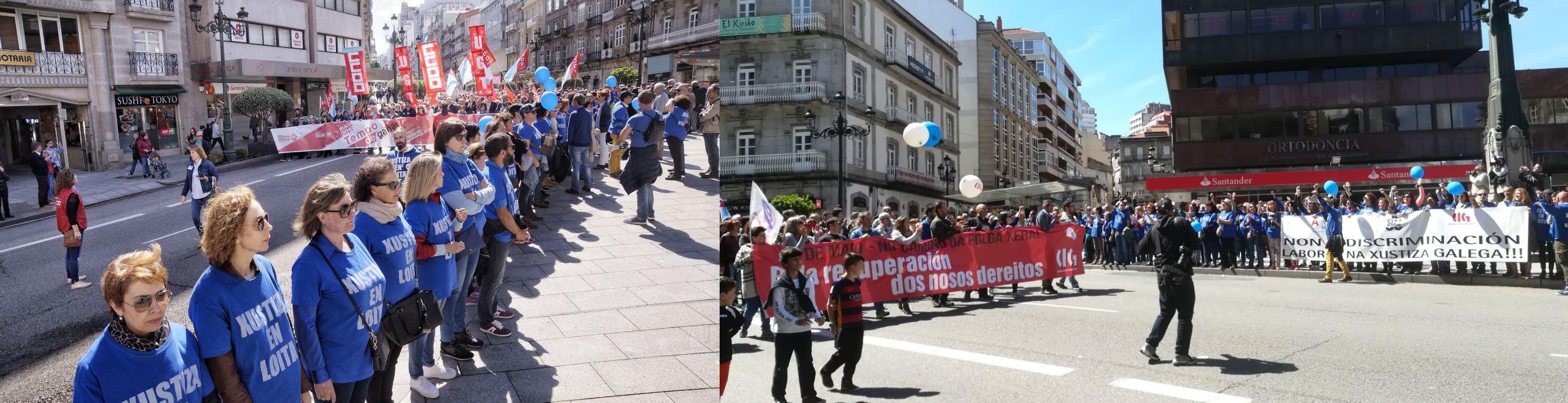 La CIG convoca huelga general para el 19 de junio en el 1º de Mayo en Vigo
