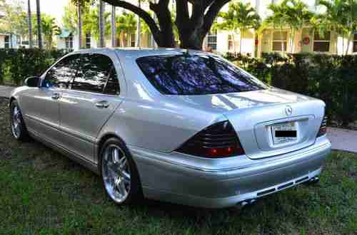 Sell used 2004 Mercedes-Benz S600 Brabus V12 twin turbo ...