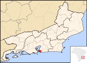 Localização de Niterói