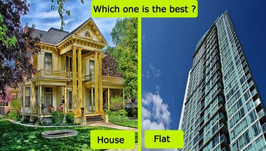 Why You Should Buy A House Instead Of A Flat Or Apartment