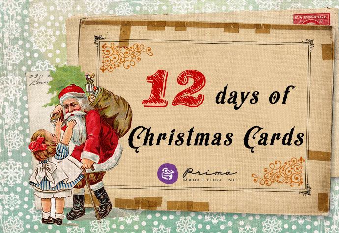 """Wyróżnienie - Prima """"12 Days of Christmas Cards"""" :)"""
