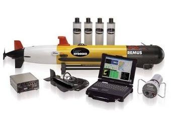 АНПА Remus 100 с сопутствующим оборудованием. Фото с сайта hydroidinc.com