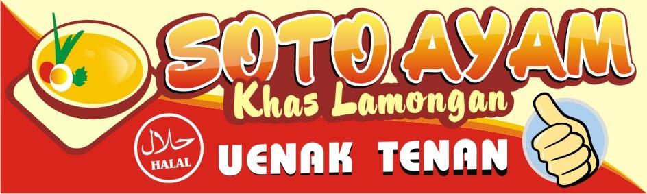 Contoh Banner Warung Soto - 9 Contoh