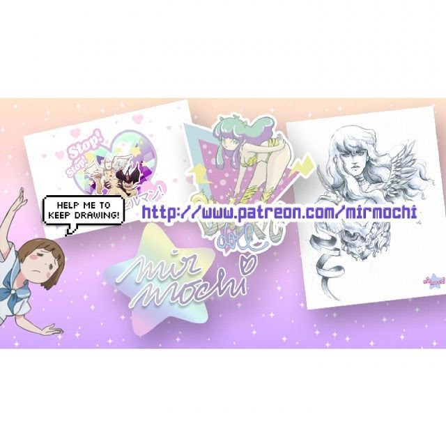 I've created a Patreon account in order to get funds to be able to make merchandising with my artworks. You can become my patron from just 1$ per month, and you'll receive monthly rewards as original drawings, watercolor artworks, prints and more!   So if you'd love to see my artworks in badges, brooches, stickers and more, please become my patron!! ( ´•̥̥̥ω•̥̥̥` )  http://www.patreon.com/mirmochi  #kawaii #patreon #patron #art #illustration #arte #ilustracion #ilustracionbcn #bcnartists #pastel #killlakill #kirurakiru #griffith #berserk #devilman #silene #lum #lamu #uruseiyatsura #kawaiiedit