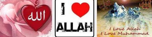 love cinta Allah