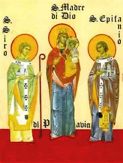 ST. EPIPHANIUS, Bishop of Pavia