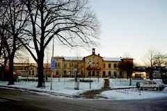 Gamla järnvägsstation