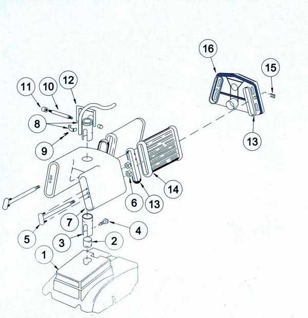 32 Filter Queen Parts Diagram