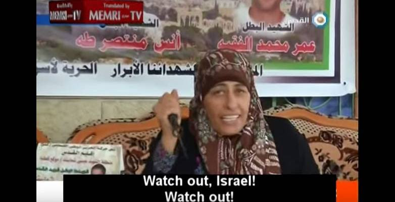 Palestinian Mother Threatens Terror Attacks After Her Son Is Killed Trying to Murder Jews in Israel