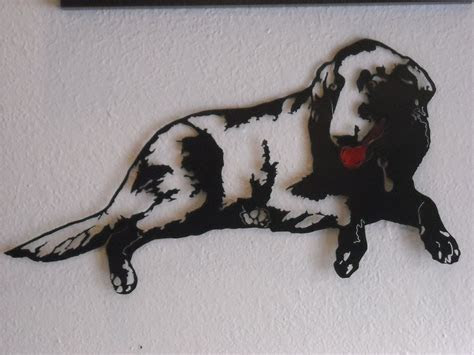 Hand Crafted Dog Metal Wall Art by Superior Iron Artz Llc
