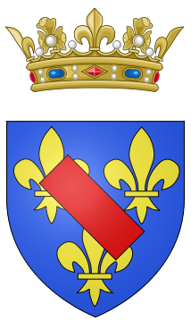 File:Coat of arms of the Prince of Condé.png