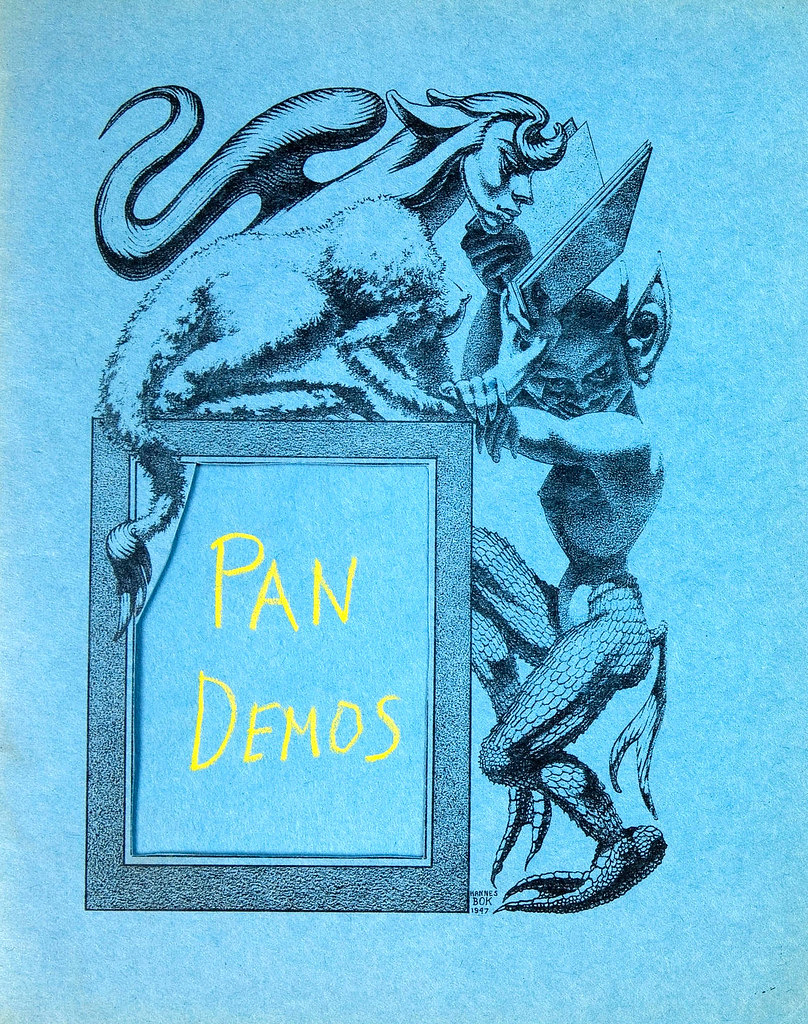 Hannes Bok, illustrator - Pan Demos 1,1949