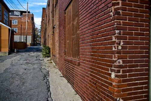 city street alley. Back Street Alley