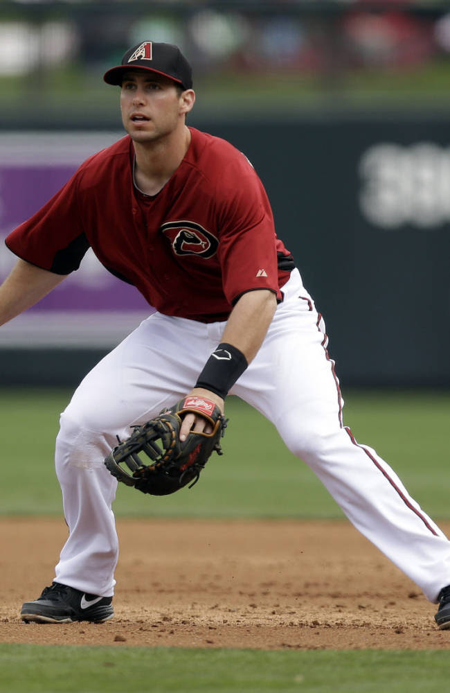 Arizona Diamondbacks' Paul Goldschmidt in action against the Chicago White Sox during an exhibition spring training baseball game on Saturday, March 9, 2013 in Scottsdale, Ariz