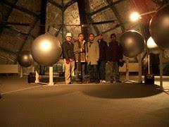 Dalam Atomium, Bruparck, Brussels, Belgium