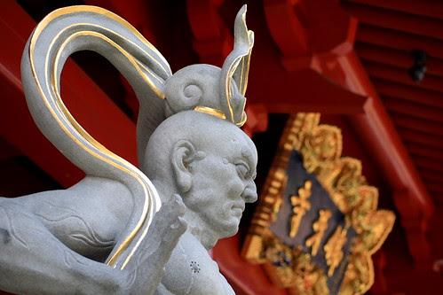 Door God at the main entrance