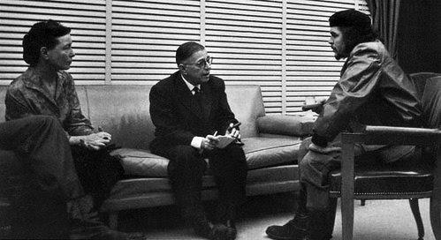 Ficheiro:Beauvoir Sartre - Che Guevara -1960 - Cuba.jpg